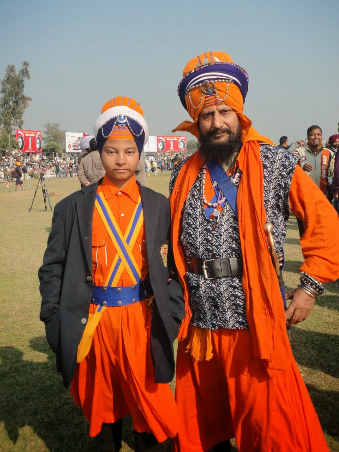 Men at Rural Olympics, Kila Raipur