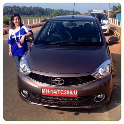 Test driving Tata Tiago in Goa