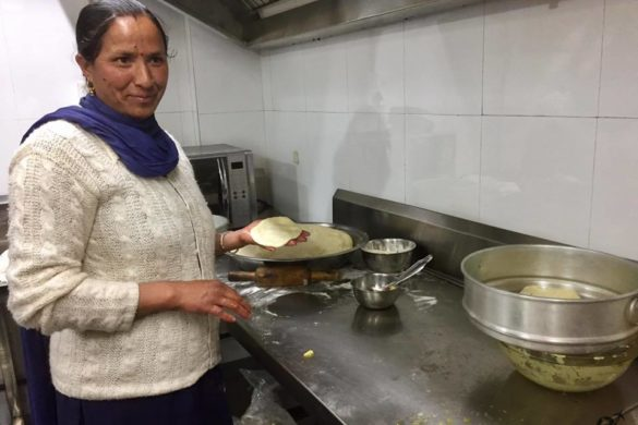 Traditional Pahari cooking session