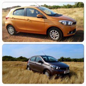 Test driving Tata Tiago in Goa