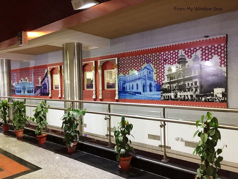 Delhi Metro Heritage Line, Heritage Line, DMRC, Heritage Corridor, Delhi Metro, Jama Masjid, Jama Masjid Metro Station, Ragini Puri, Travel Blogger, Travel Writer, Travel Photographer